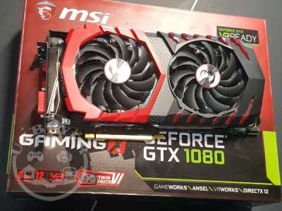 GEFORCE GTX 1080 GIGABYTE GEFORCE GTX G1 GAMING EDITION GRAPHIC CARD