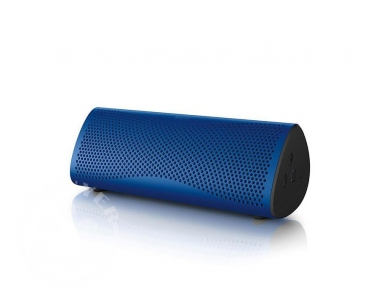KEF_Muo_wireless_bluetooth_speaker_blue_audible_fidelity_ukbuyer_uk_classifieds