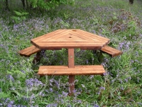 Winer Diner Picnic Table