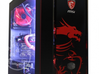 Cube Dragon Master Overclocked Watercooled Gaming PC
