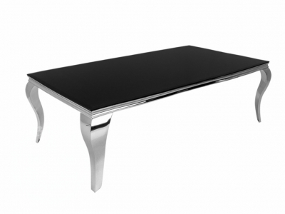 Catania Dining table (2000mm) (Black)